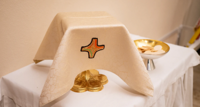 Modlitba pred eucharistiou