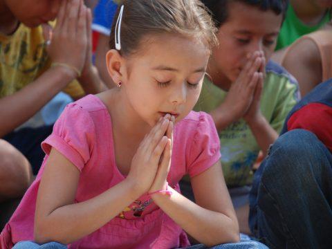 Modlitba za deti