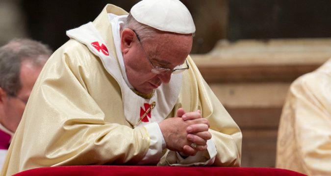 Modlitba za pápeža
