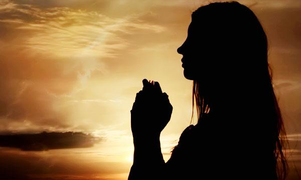 Modlitba za zbavenie prekliatia