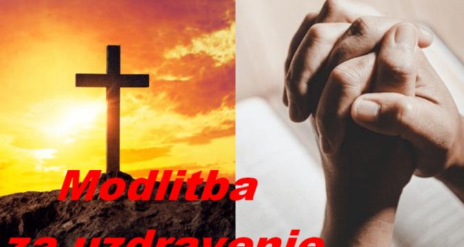 Modlitba za zdravie