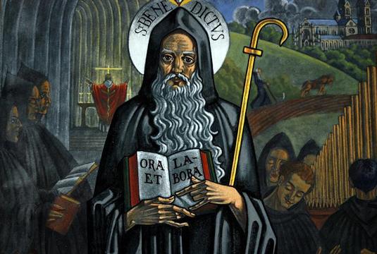 Svätý Benedikt a jeho zázraky